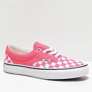 Brand New in Box Vans Era Strawberry Checkerboard